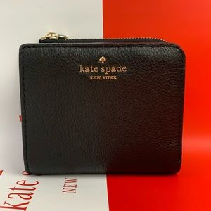 Kate Spade Black Bifold Wallet